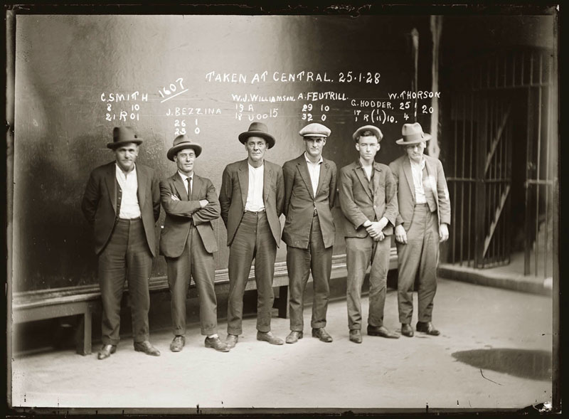 Vintage Candid Mugshots of Dapper Criminals 1920s (11)