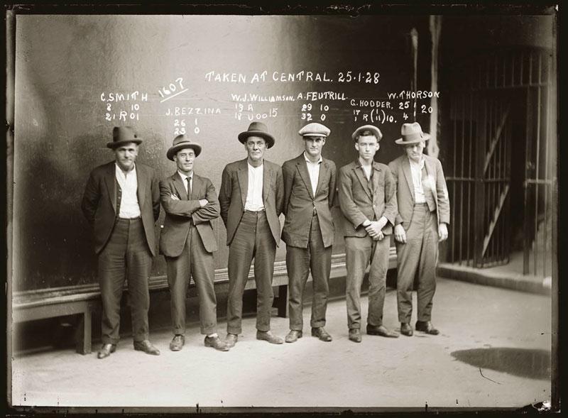 Vintage Candid Mugshots of Dapper Criminals 1920s (11)