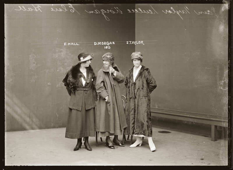 Vintage Candid Mugshots of Dapper Criminals 1920s (13)