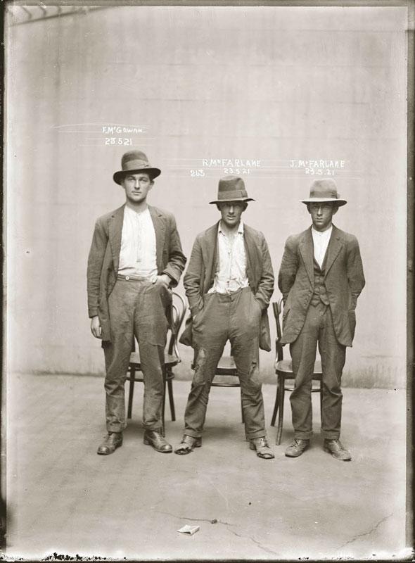 Vintage Candid Mugshots of Dapper Criminals 1920s (15)