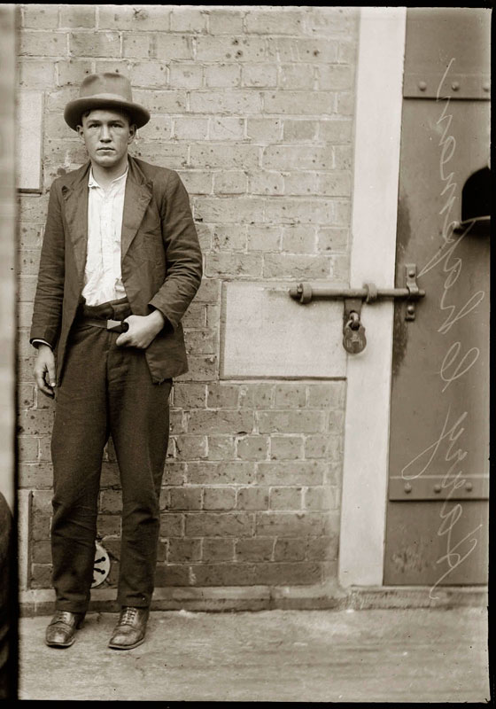 Vintage Candid Mugshots of Dapper Criminals 1920s (18)
