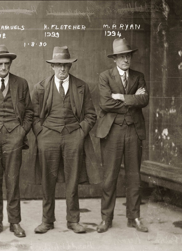 40 Candid Mugshots of Dapper Criminals from the 1920s