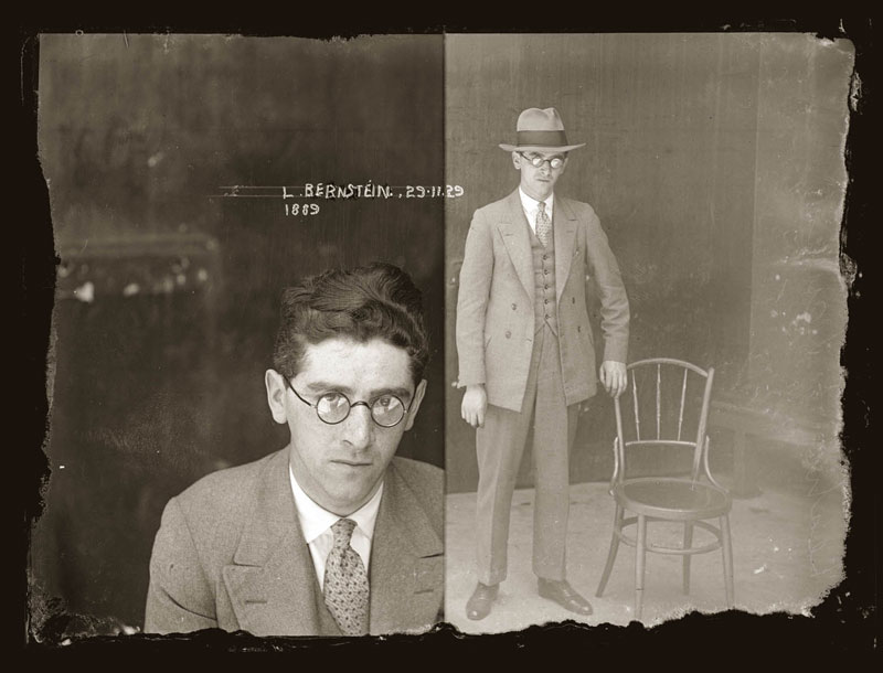 Vintage Candid Mugshots of Dapper Criminals 1920s (20)