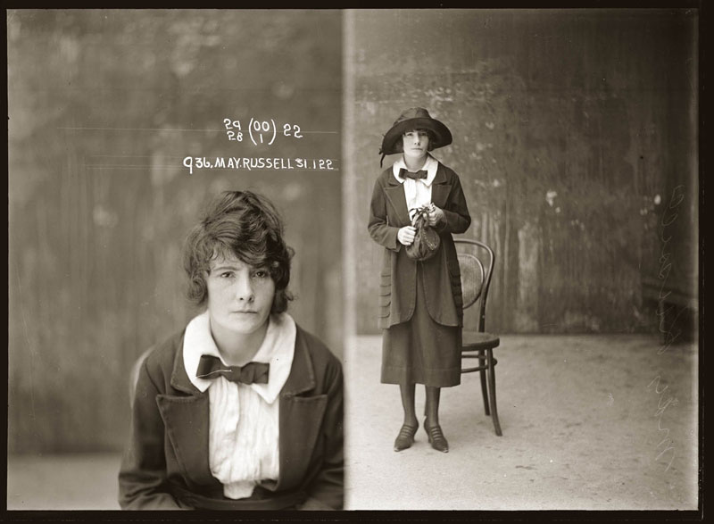 Vintage Candid Mugshots of Dapper Criminals 1920s (22)