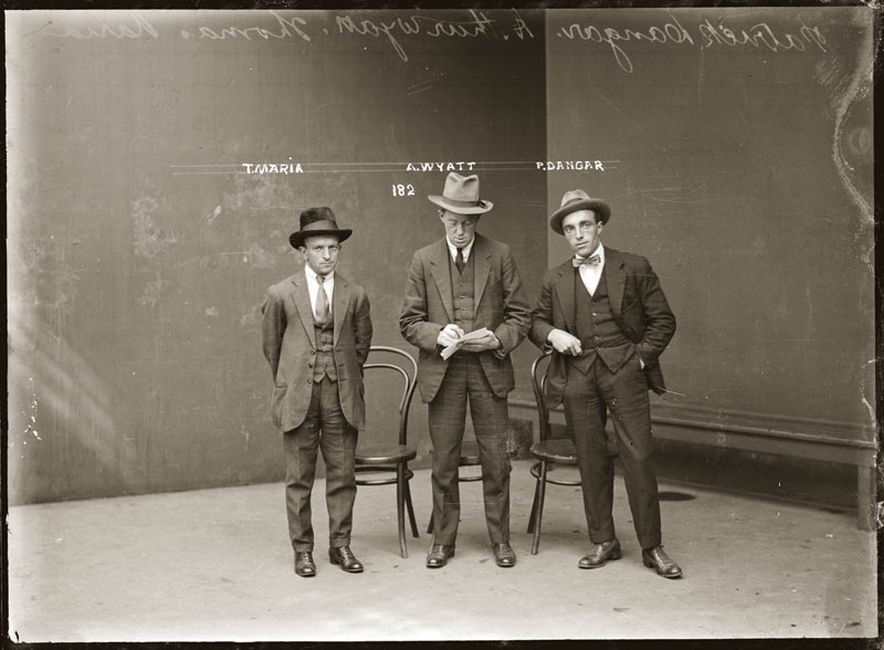 Vintage Candid Mugshots of Dapper Criminals 1920s (27)