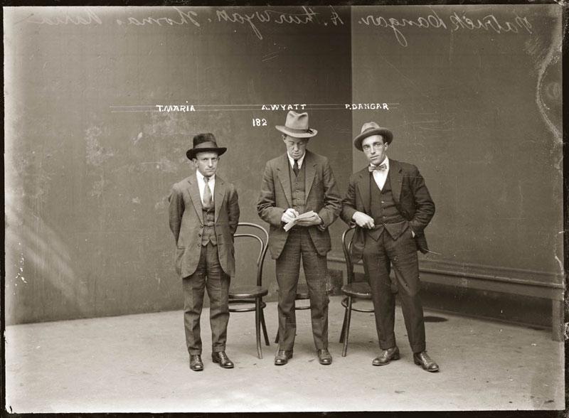 Vintage Candid Mugshots of Dapper Criminals 1920s (27)
