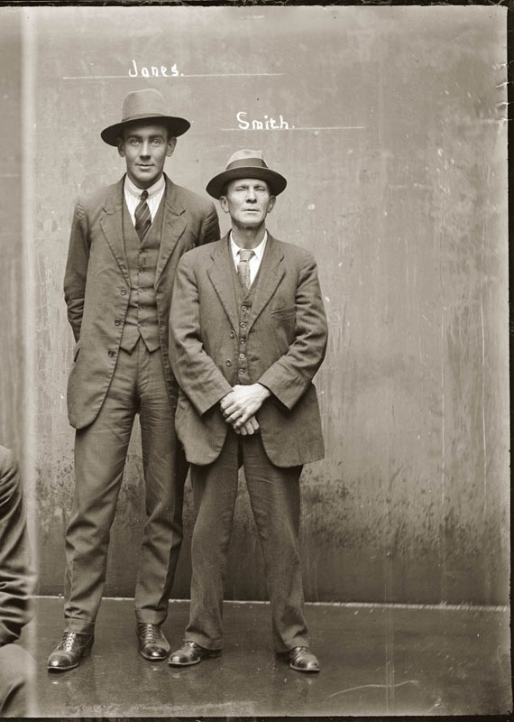 Vintage Candid Mugshots of Dapper Criminals 1920s (28)