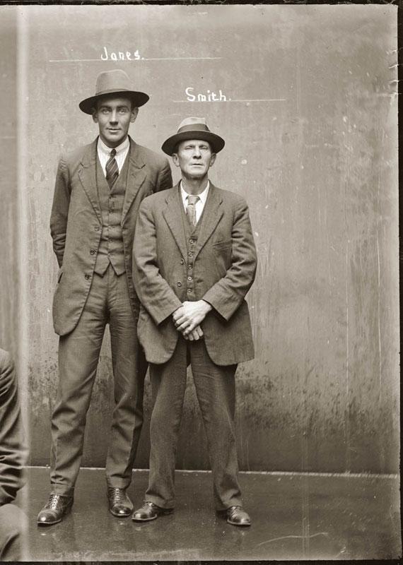 Vintage Candid Mugshots of Dapper Criminals 1920s (28)