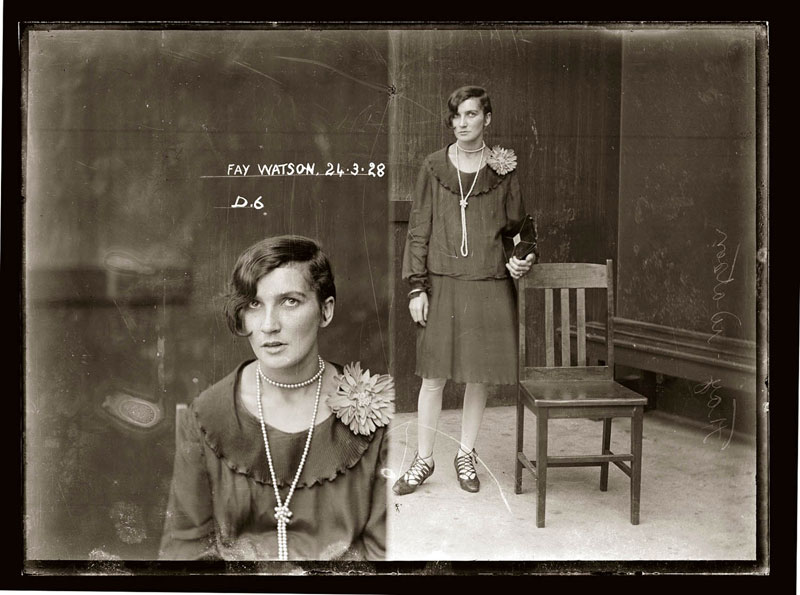 Vintage Candid Mugshots of Dapper Criminals 1920s (34)