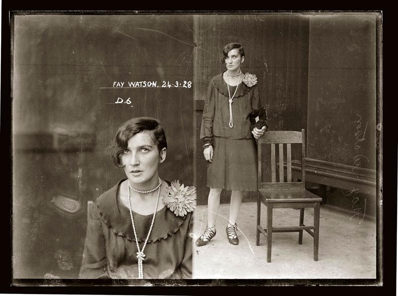 Vintage Candid Mugshots of Dapper Criminals 1920s (34)