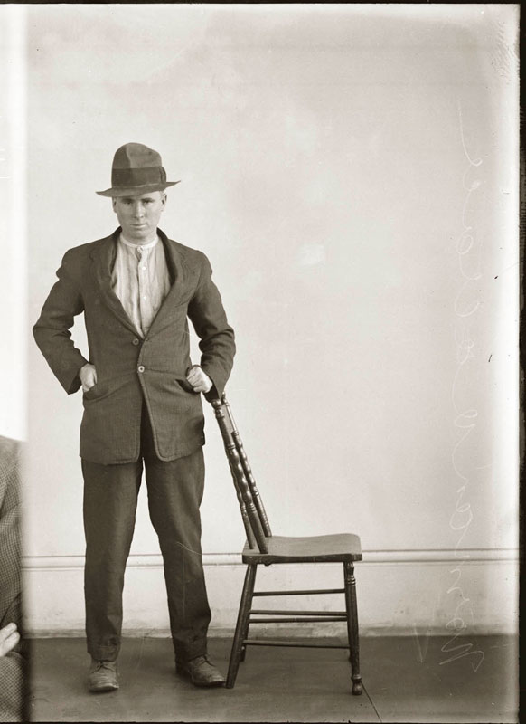 Vintage Candid Mugshots of Dapper Criminals 1920s (38)