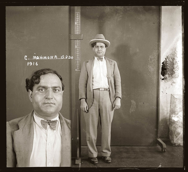 Vintage Candid Mugshots of Dapper Criminals 1920s (5)