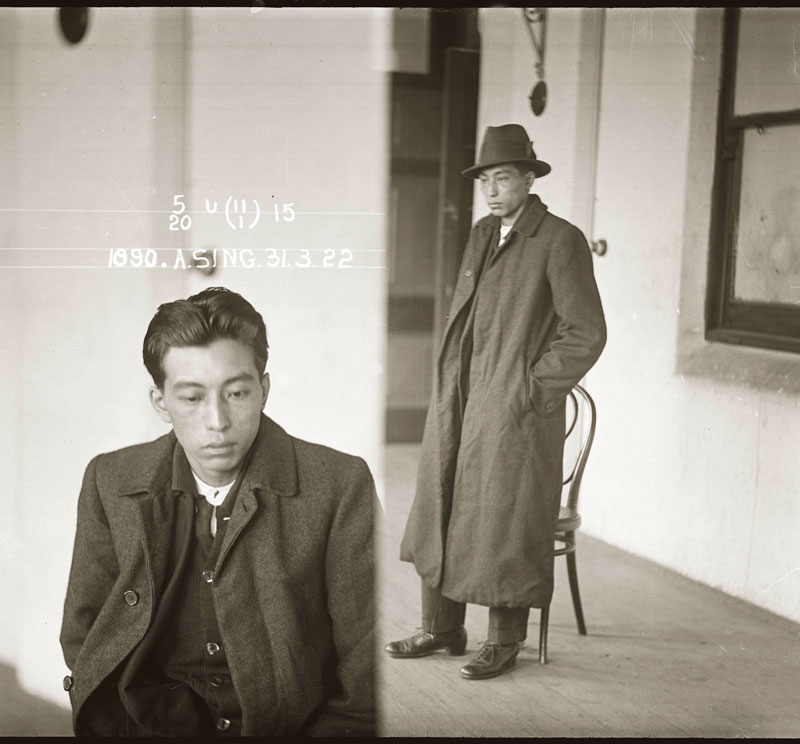 Vintage Candid Mugshots of Dapper Criminals 1920s (6)