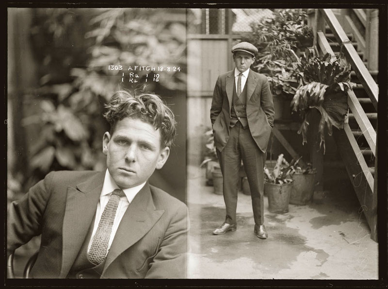 Vintage Candid Mugshots of Dapper Criminals 1920s (7)
