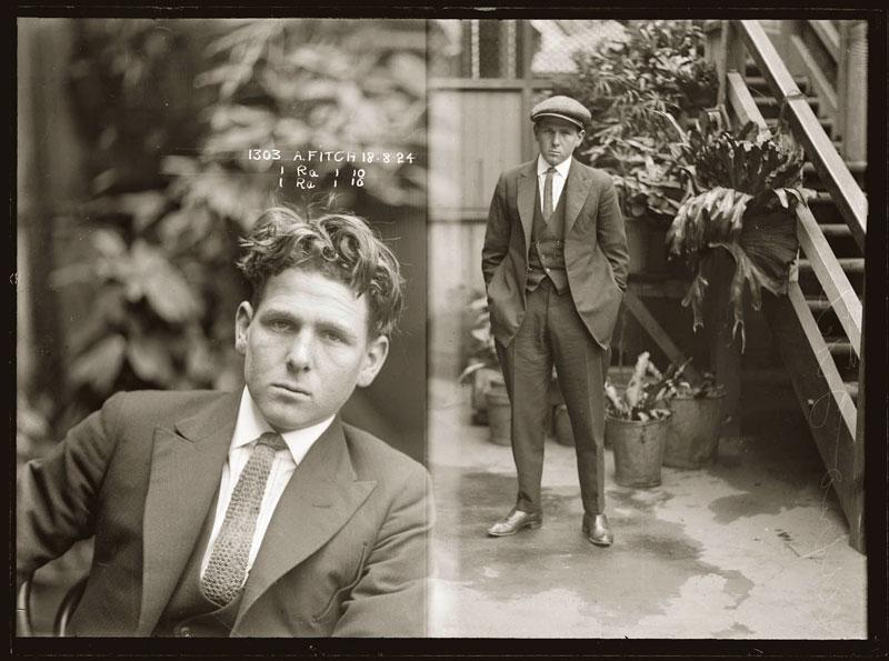Vintage Candid Mugshots of Dapper Criminals 1920s (7)