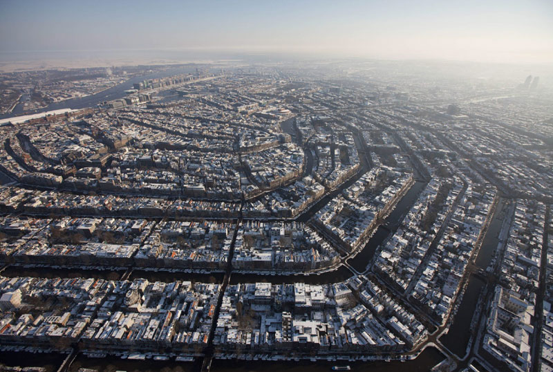 aerial amsterdam from above The Top 100 Pictures of the Day for 2013