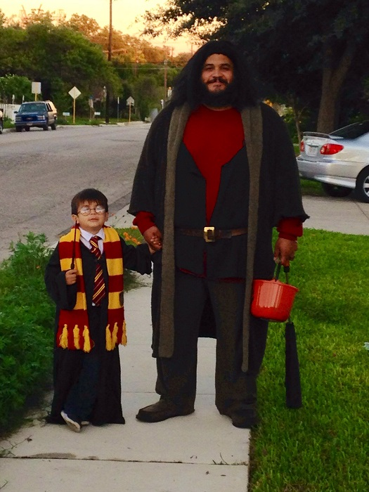 harry potter father and son halloween
