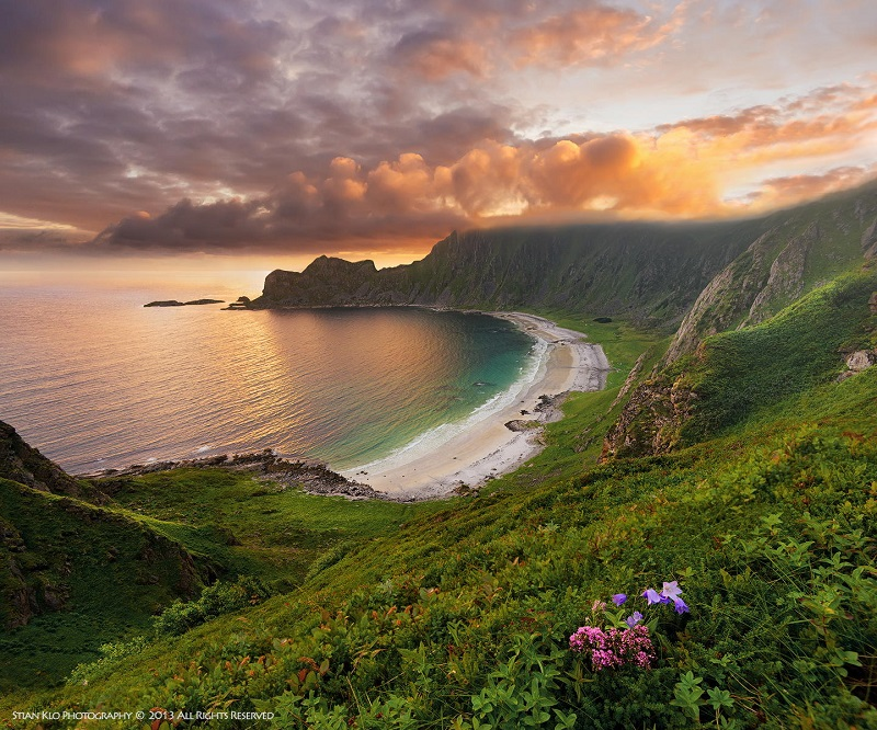 Picture of the Day: Hoyvika Beach,Norway