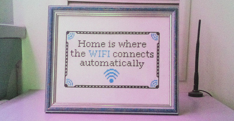 home is where the wifi connects automatically The Shirk Report   Volume 241