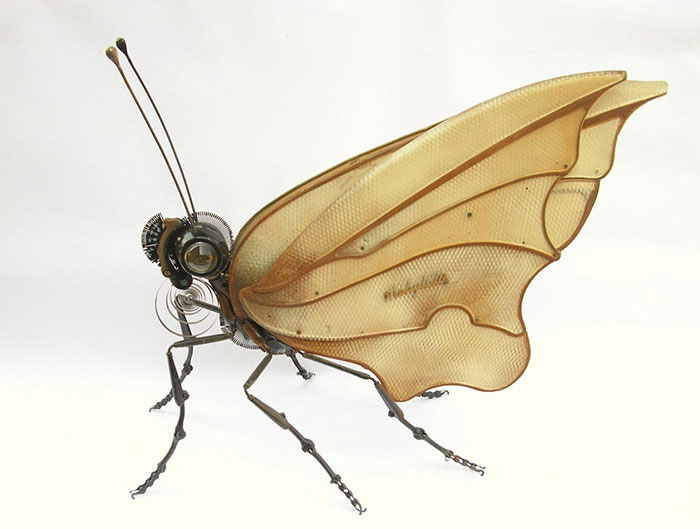 Intricate Animals Made From Scrap Metal And Auto Parts