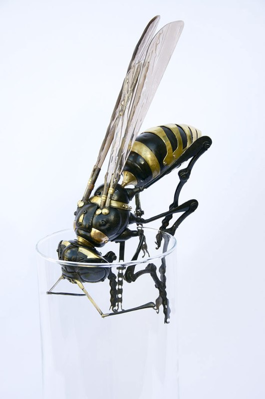 insects and animals made from scrap metal and bike parts edouard martinet 21 Mark Khaisman Makes Art with Everyday Packing Tape