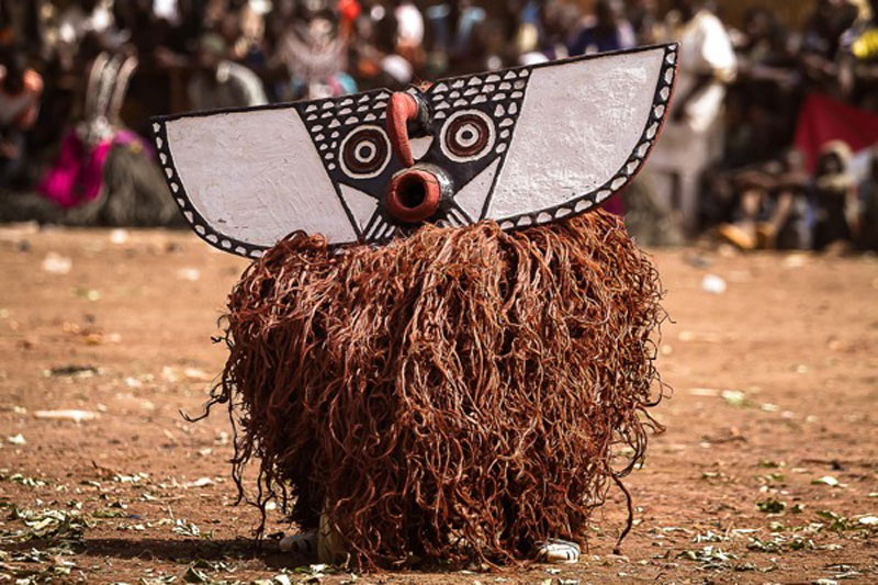 burkina faso festival of masks