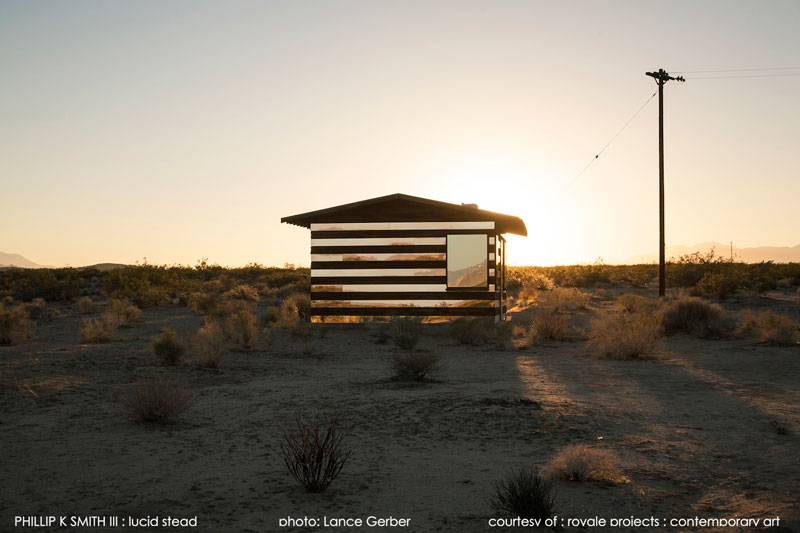 lucid stead by phillip k smith III transparent cabin wood and glass joshua tree national park (7)