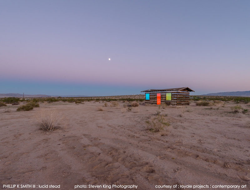 lucid stead by phillip k smith III transparent cabin wood and glass joshua tree national park (8)