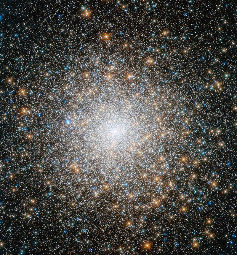 messier 15 globular star cluster Picture of the Day: This Star Cluster is 12 Billion Years Old