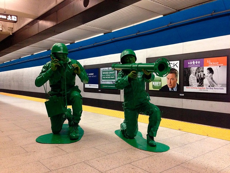 plastic army men halloween costume