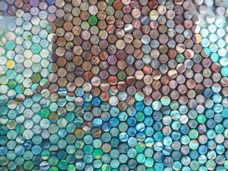 play doh mosaic artwork lacy knudson dozayix (10)