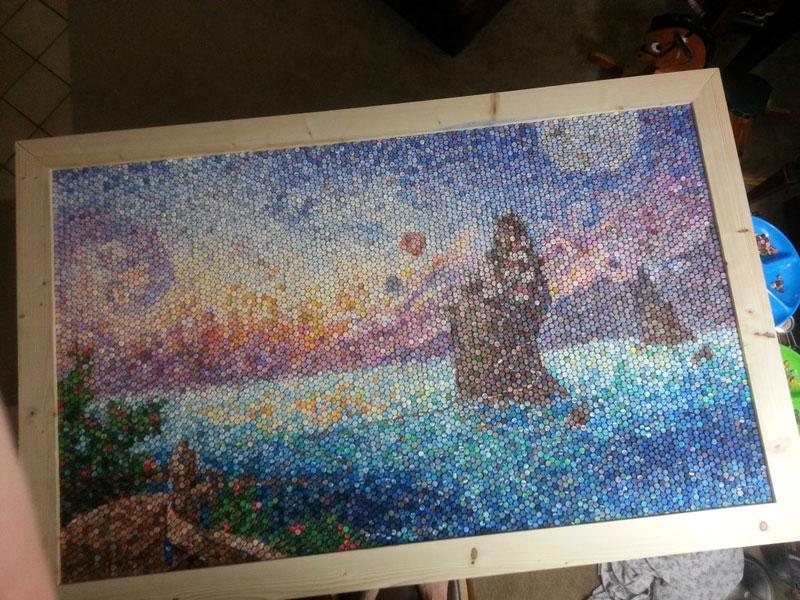 play doh mosaic artwork lacy knudson dozayix (11)