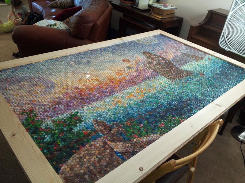 play doh mosaic artwork lacy knudson dozayix (13)