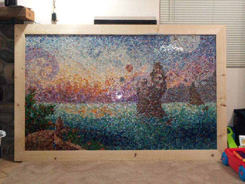 play doh mosaic artwork lacy knudson dozayix (14)