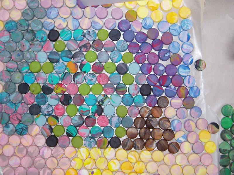 play doh mosaic artwork lacy knudson dozayix (4)