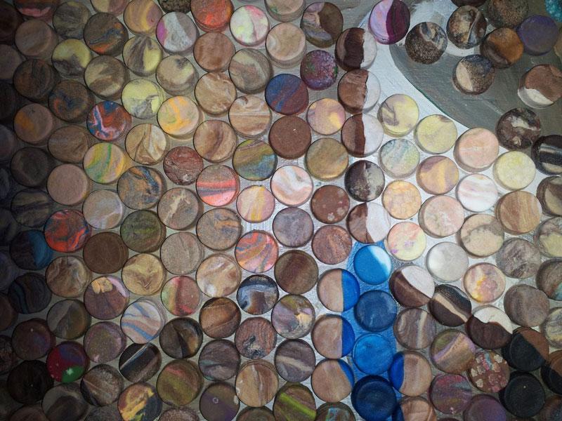 play doh mosaic artwork lacy knudson dozayix (6)