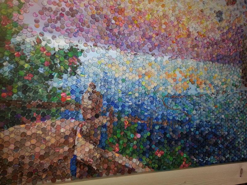 play doh mosaic artwork lacy knudson dozayix (7)