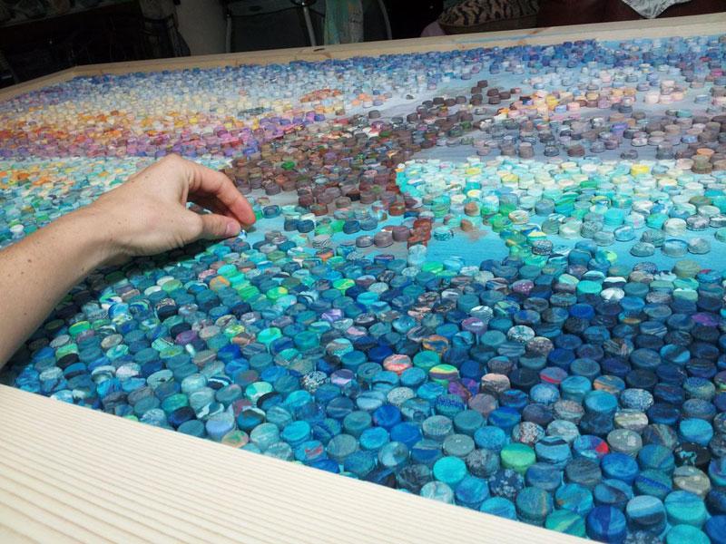 play doh mosaic artwork lacy knudson dozayix (9)