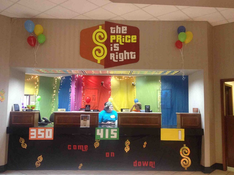 price is right bank tellers halloween
