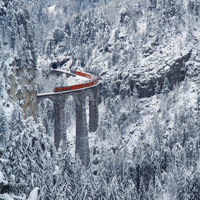 rhaetian railway albula bernina glacier express bernina express unesco 13 A Tour of the French Alps with Lukas Furlan