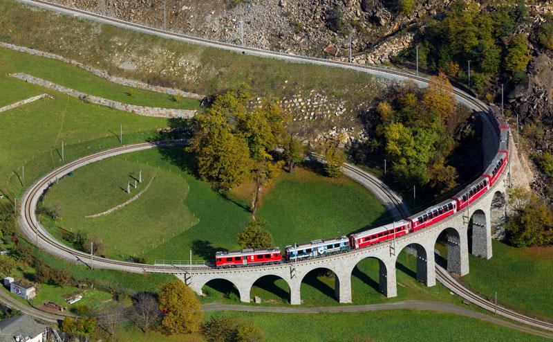 rhaetian railway albula bernina glacier express bernina express unesco (8)