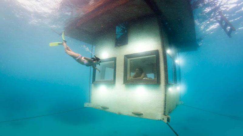 underwater hotel room pemba island tanzania africa (2)