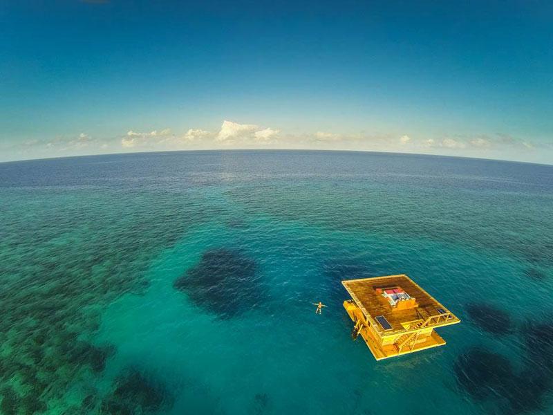 underwater hotel room pemba island tanzania africa (9)