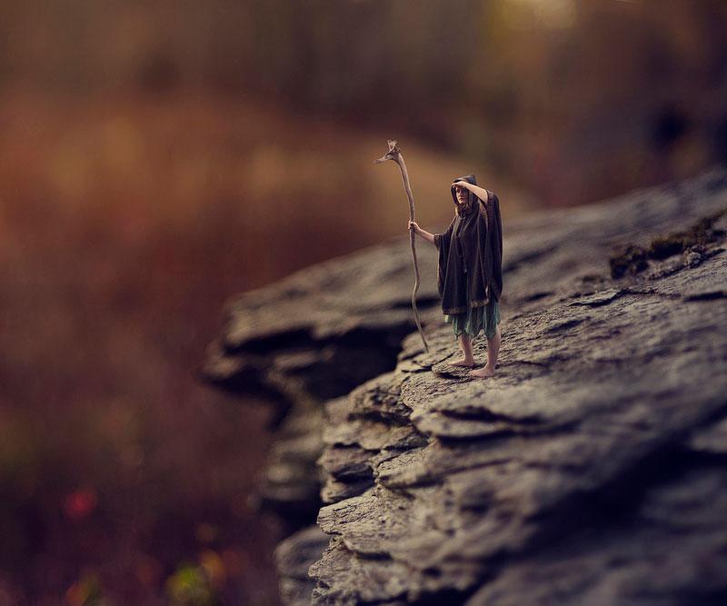 Teenager Splices Portrait and Macro Photos into Miniature FantasyWorld