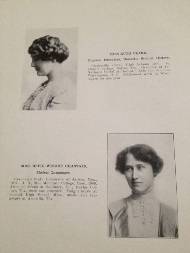 100 year old high school yearbook 1912-1913 texarkana  (6)