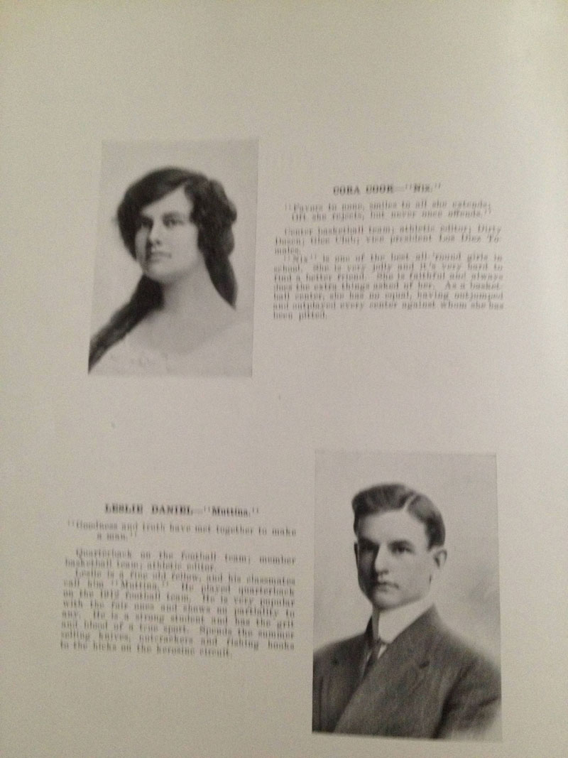 100 year old high school yearbook 1912-1913 texarkana  (8)