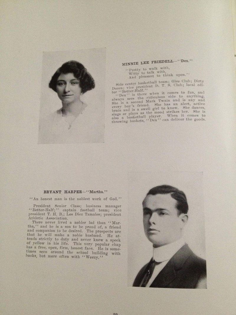 100 year old high school yearbook 1912-1913 texarkana  (9)