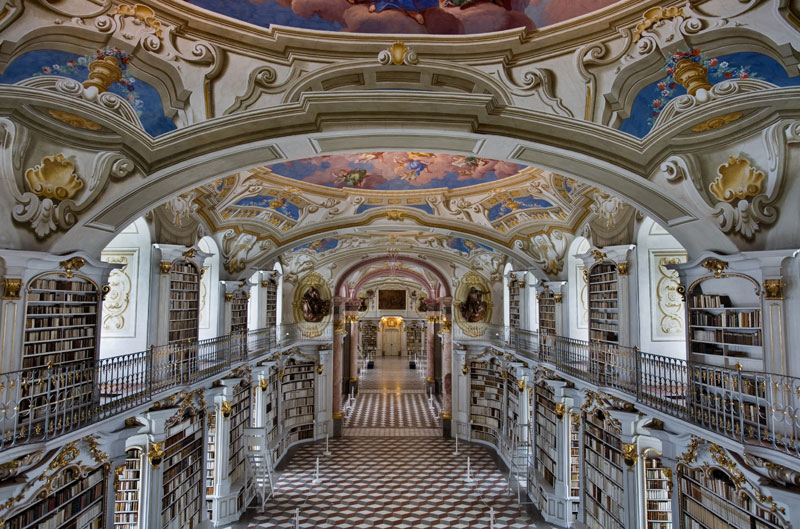 Image result for the admont library in admont austria