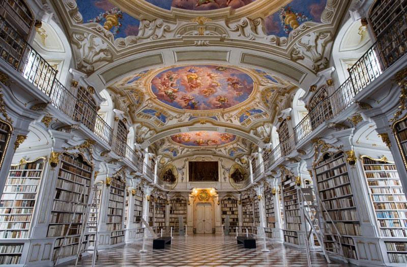 admont abbey monastery library austria (2)