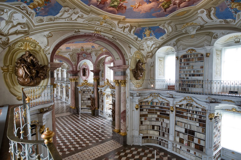 admont abbey monastery library austria (6)